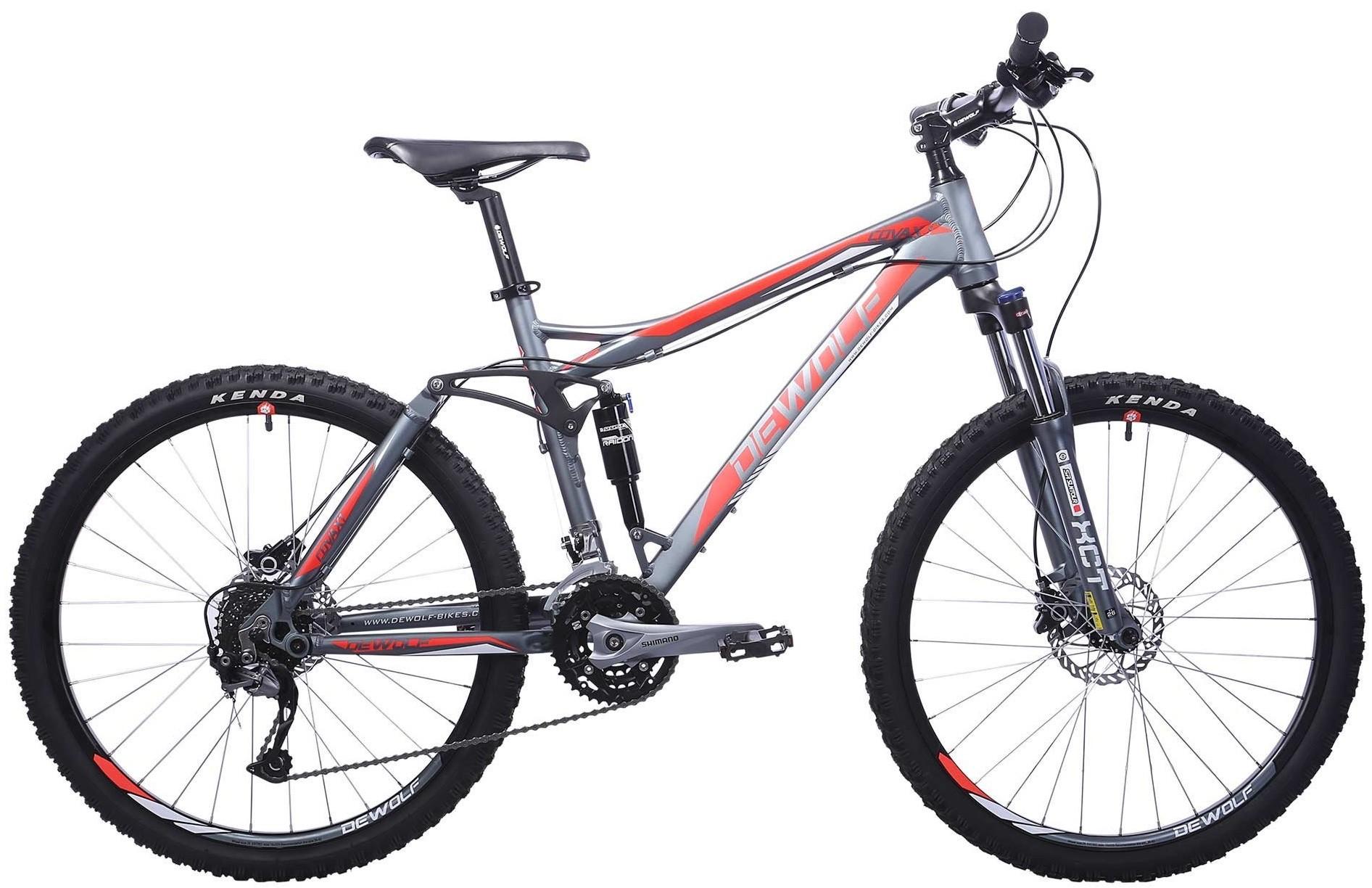 """Велосипед Dewolf Covax 1 серый/красный 26"""""""