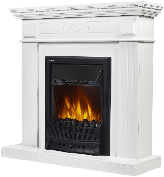 Камин Electrolux Classic EFP/P-1020LS + Bianco Classic белый