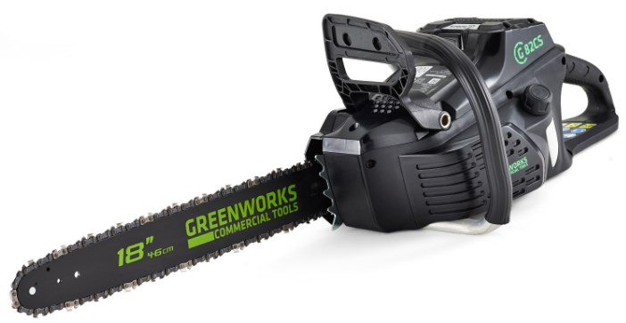 Электропила Greenworks GC82CSK25