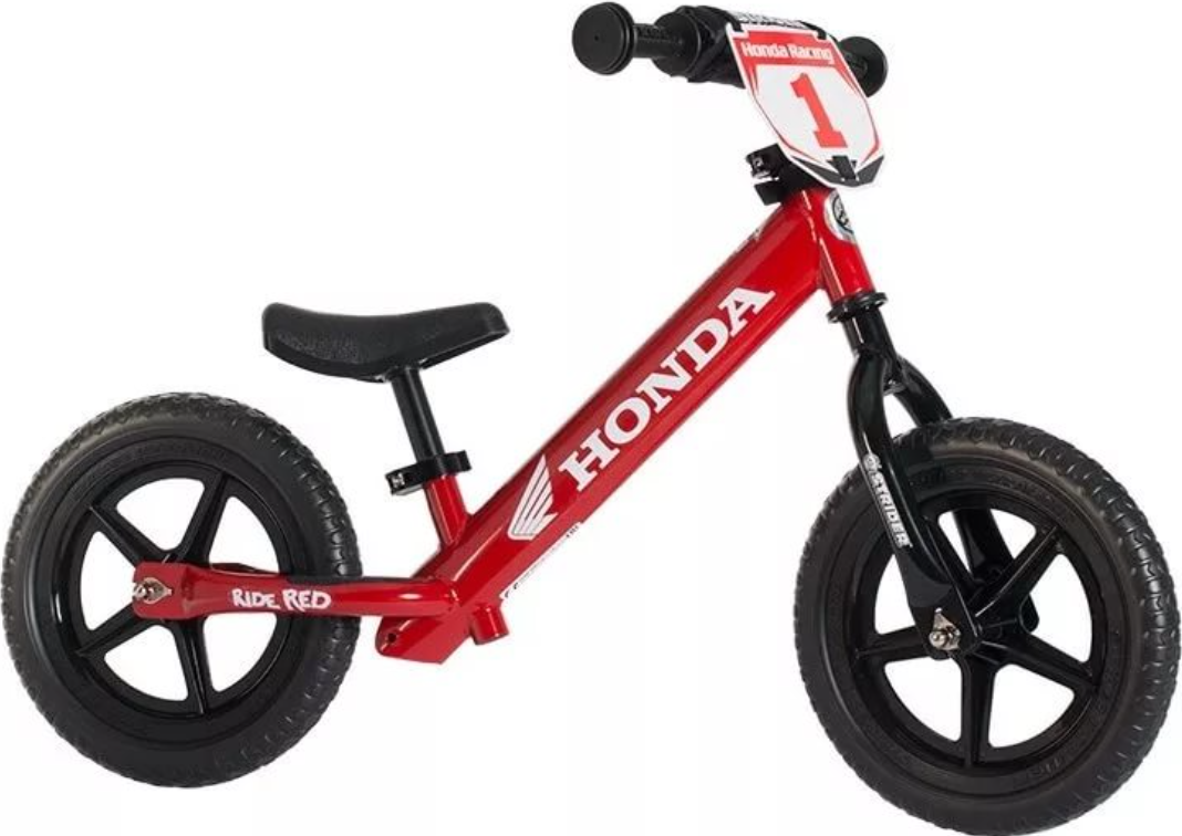 """Беговел Strider Honda Red 12"""""""