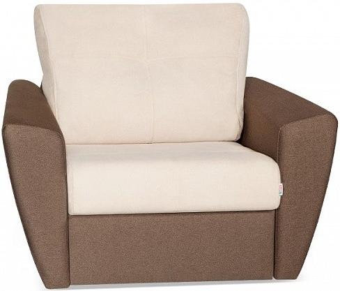 Кресло-кровать Цвет Диванов Амстердам Next кремовый 114x90x76 см