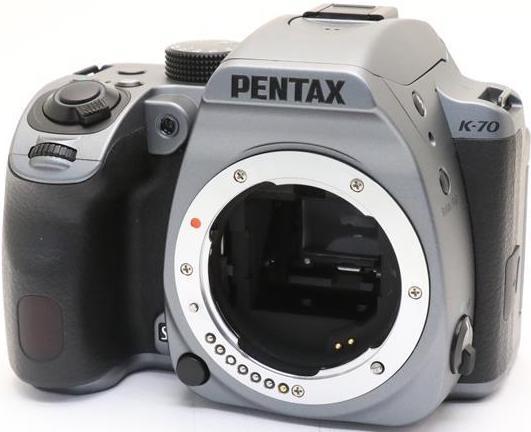 Фотоаппарат Pentax K-70 Body Silky Silver