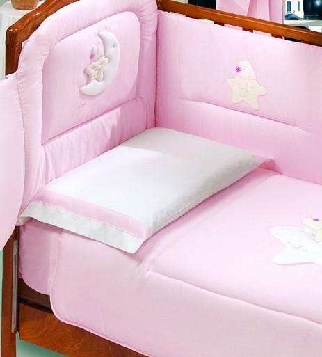 Постельное белье Italbaby Petite Etoile розовый (70x140 см)