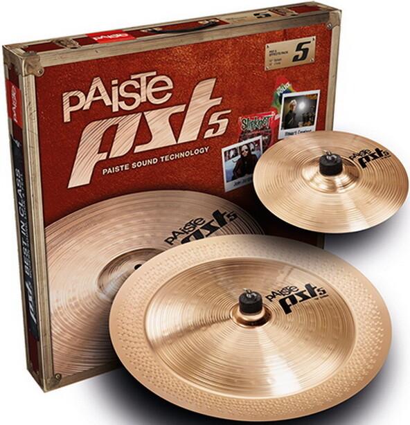 """Комплект тарелок Paiste New PST 5 Effects Set 10/18"""""""