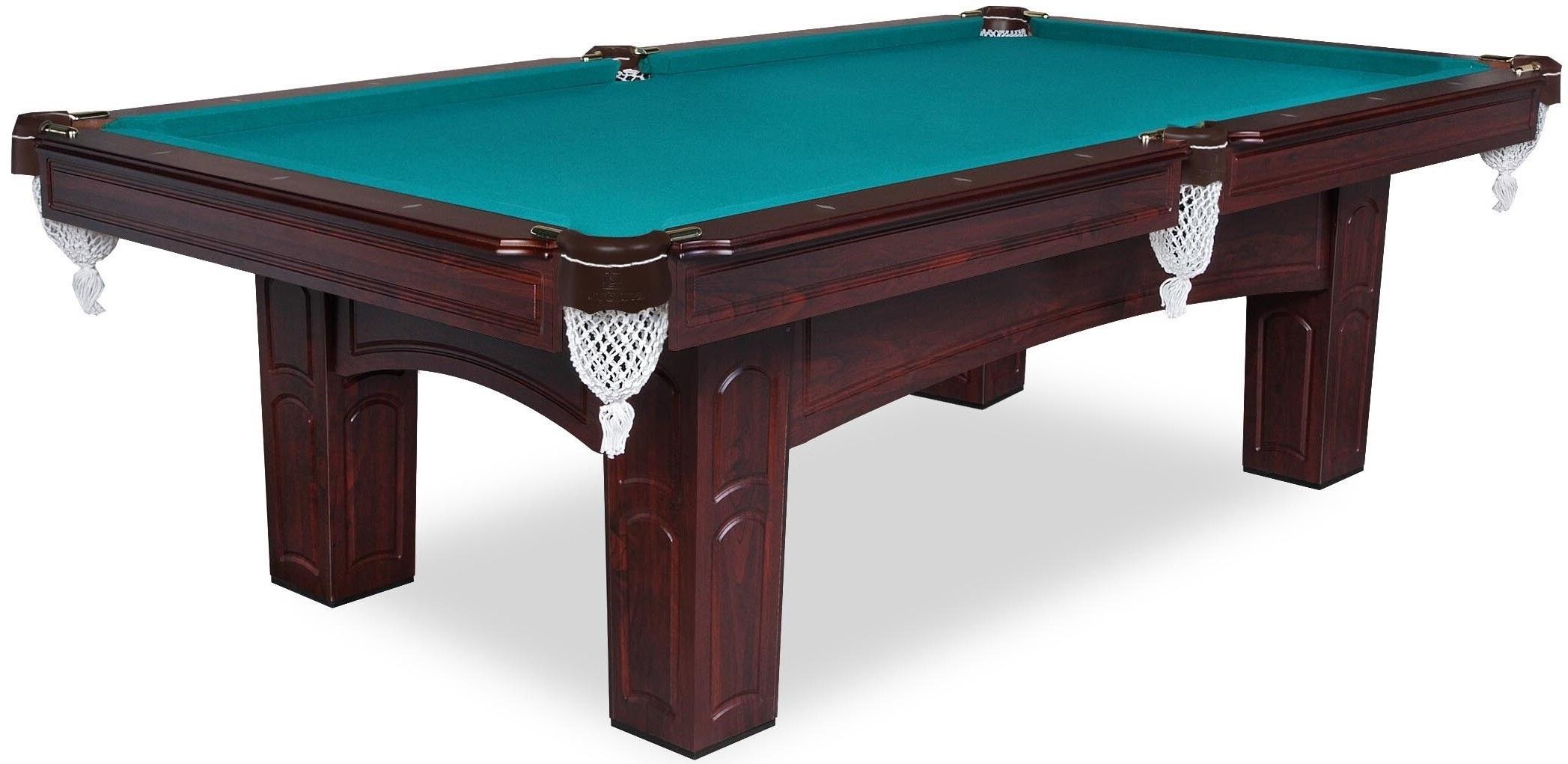 Бильярдный стол Fortuna Brookstone 8FT Коричневый
