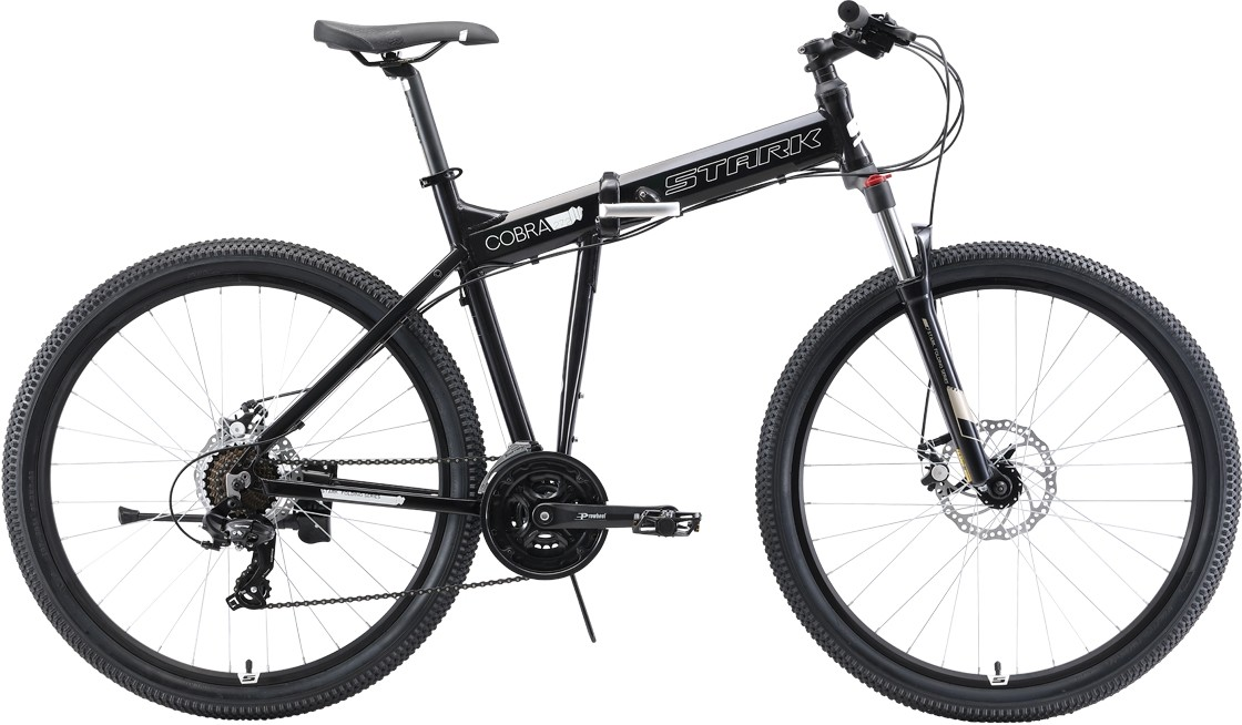 Велосипед Stark Cobra 27.2 D (2019) чёр…