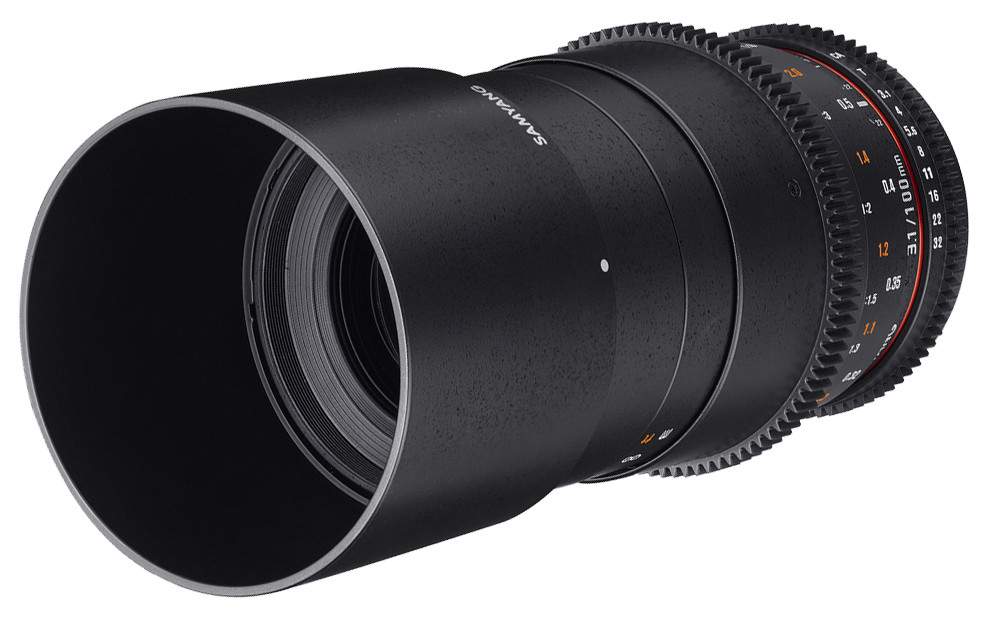 Объектив Samyang MF 100mm T3.1 ED UMC Macro VDSLR Nikon F Black