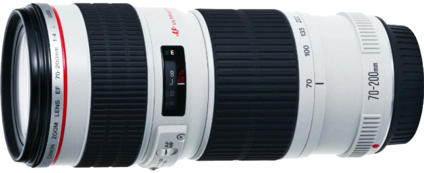 Объектив Canon EF 70-200mm f/4.0 L USM White