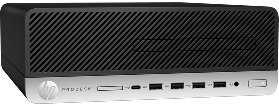 Компьютер HP ProDesk 600 G5 SFF 3GHz/8Gb/256GbSSD/W10 Black