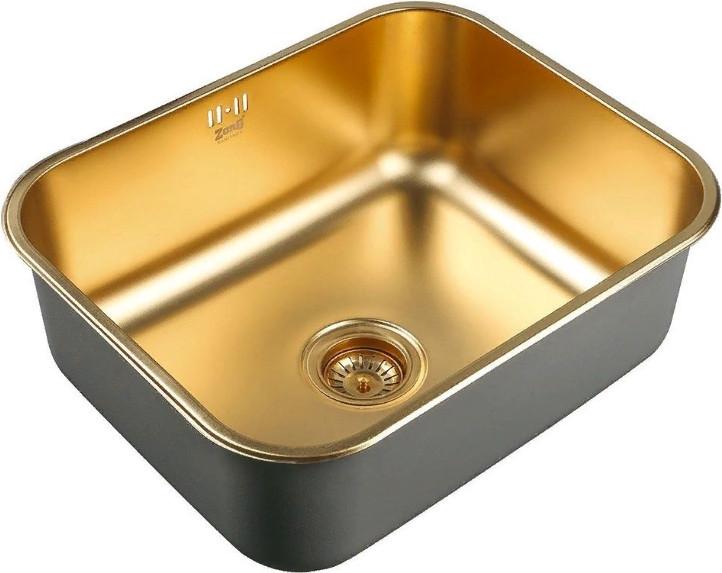 Кухонная мойка Zorg SZR 5343 Bronze