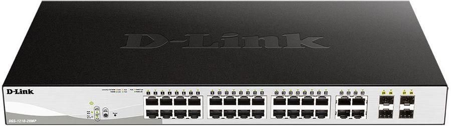 Коммутатор D-Link DGS-1210-28MP/F1A