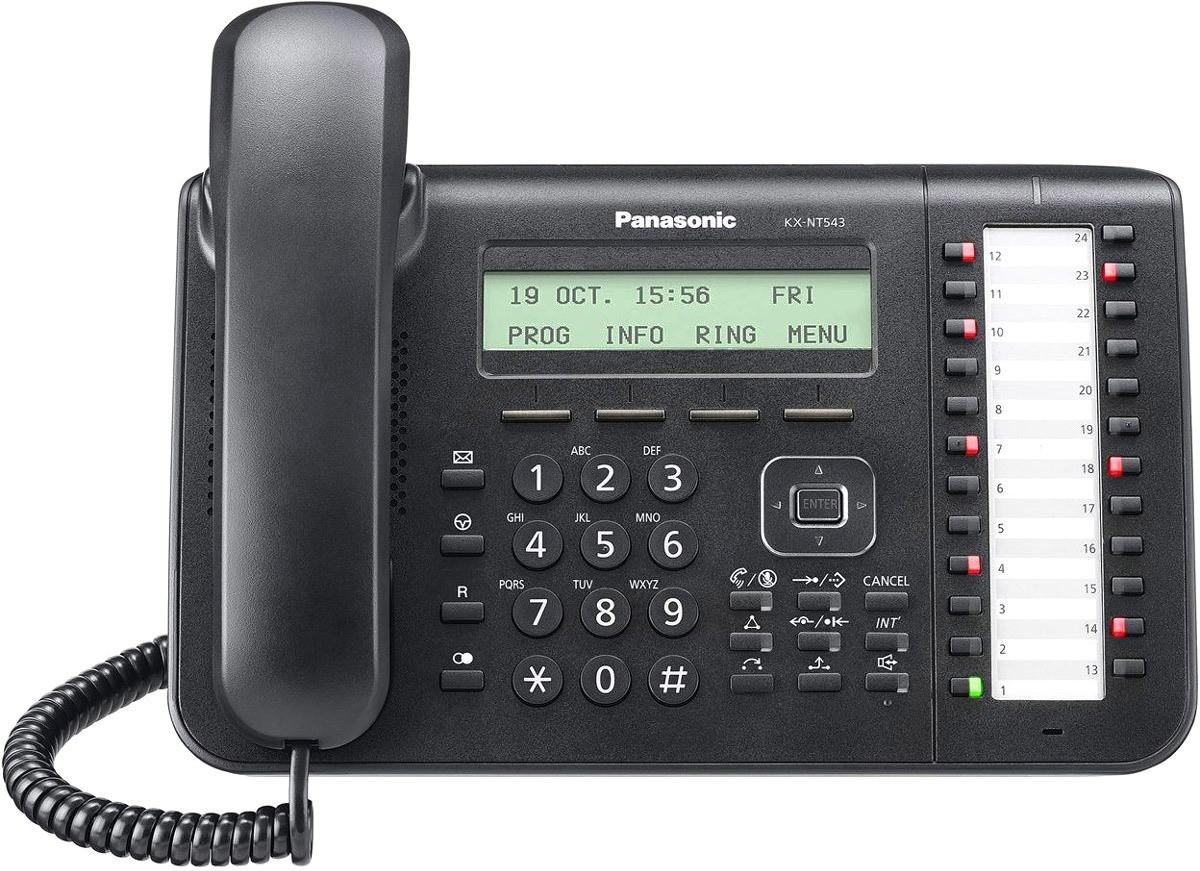 IP-телефон Panasonic KX-NT543 Black