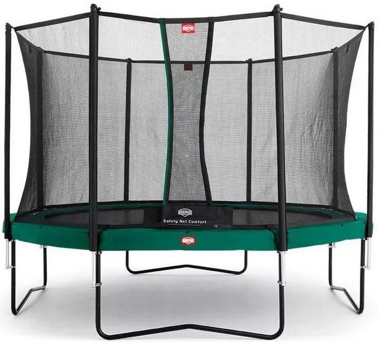 Батут Berg Favorit 13FT Green (с внутренней сеткой Comfort)
