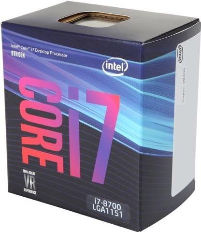 Процессор (CPU) Intel Core i7-8700 3.2G…