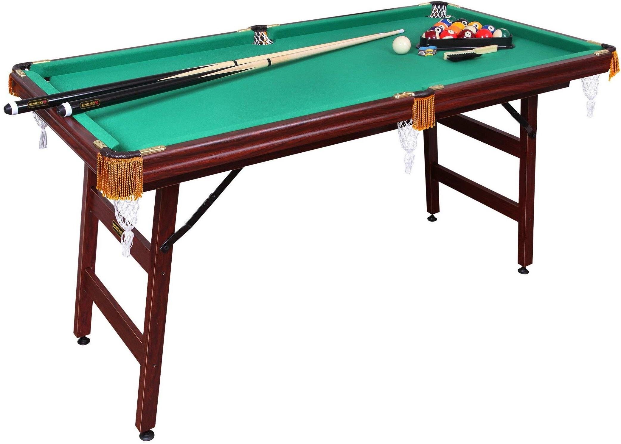 Бильярдный стол Fortuna Пул 6FT 9в1