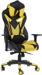 Игровое кресло ZET Chaos Guard 100K желтый/черный