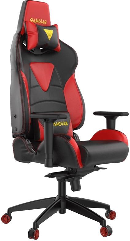 Игровое кресло Gamdias Hercules M1 черный/красный