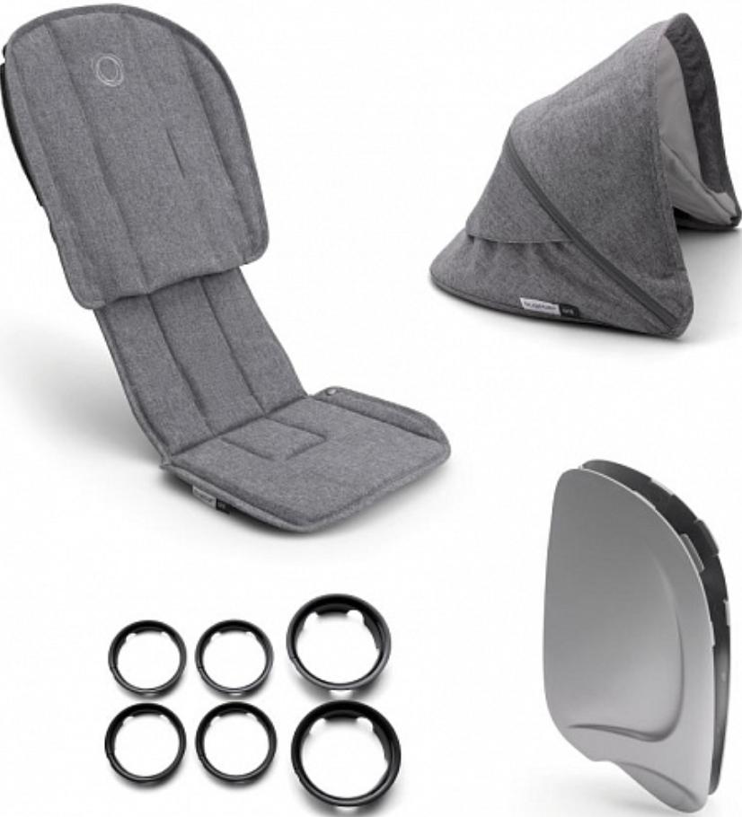 Комплект для коляски Bugaboo 910210GM01 Grey Melange