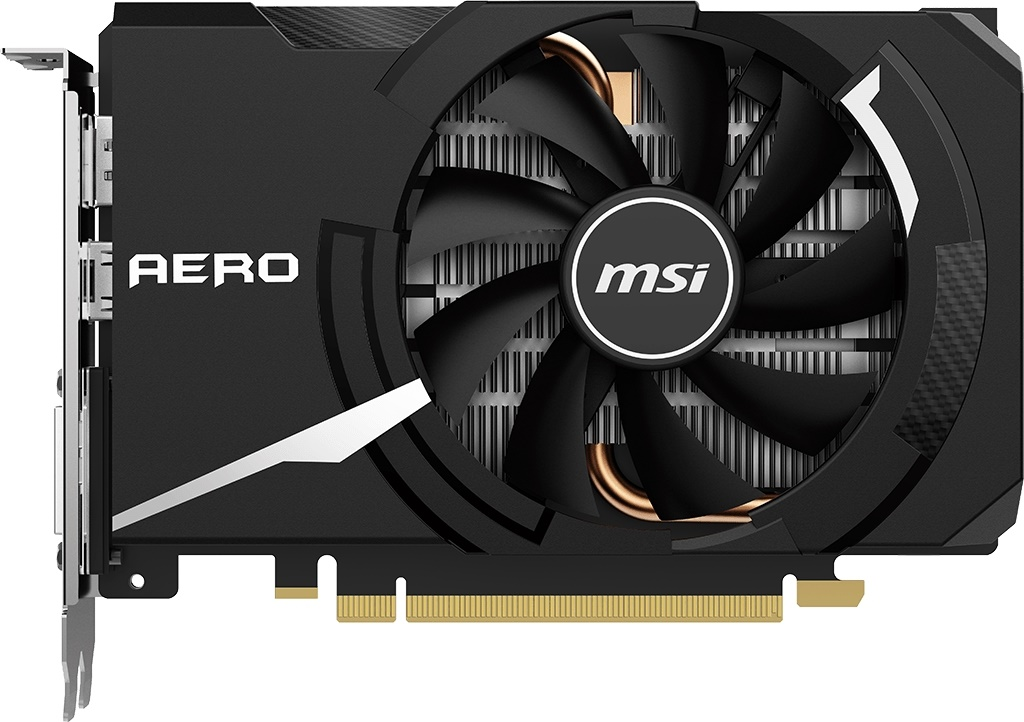 Видеокарта MSI GeForce GTX 1650 Super Aero ITX OC 4Gb
