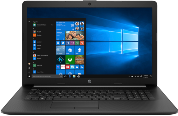"Ноутбук HP 17-ca1015ur 17,3""/2,5GHz/4Gb…"