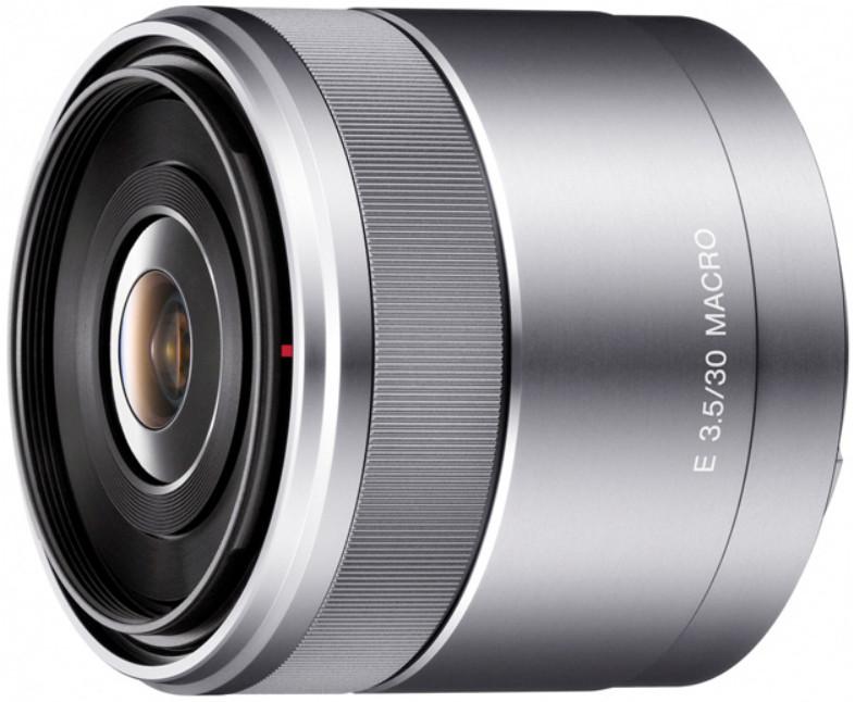 Объектив Sony E 30mm f/3.5 Macro Silver