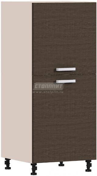 Пенал Столплит Регина 331-460-360-5335 песочный/дуб сантана темный 60x142x56 см