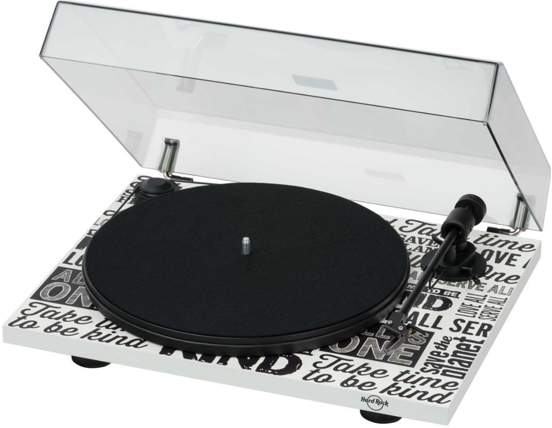 Проигрыватель Pro-Ject Hard Rock Record Player OM5E White