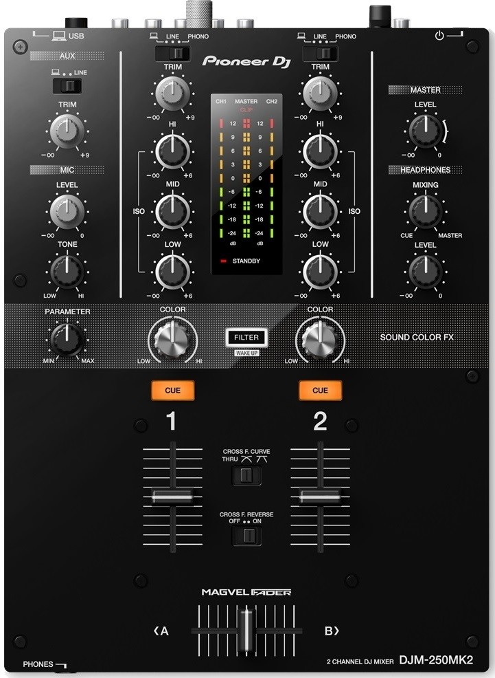Dj-микшер Pioneer DJM-250MK2