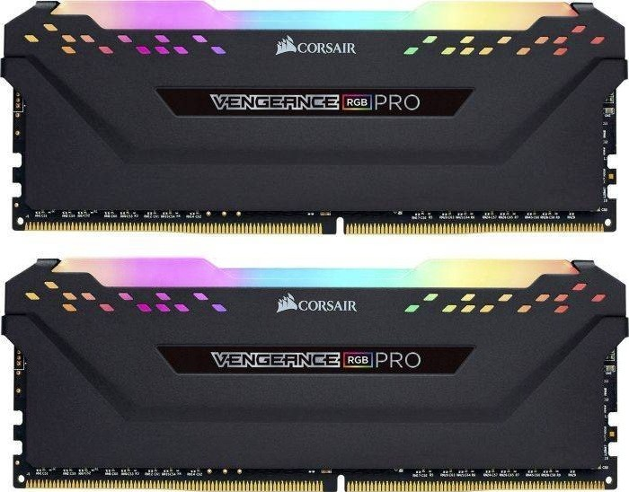 Память Corsair Vengeance RGB Pro DIMM DDR4 2x16Gb 3000MHz Black