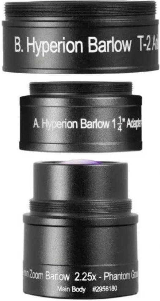 Линза Барлоу Baader Planetarium Hyperion Zoom 2,25х