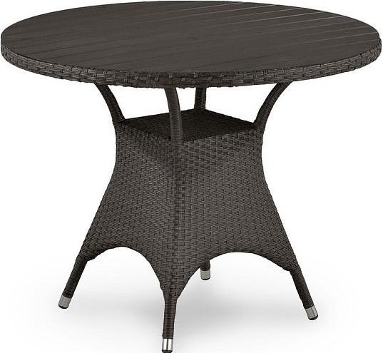 Стол Афина-Мебель T190AD-W52-D96 коричневый