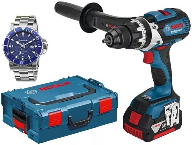 Дрель Bosch 0615990H6T + часы