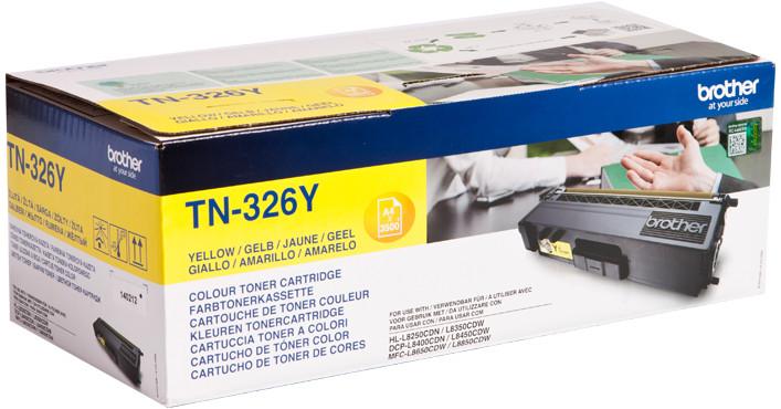 Картридж Brother TN-326 Yellow