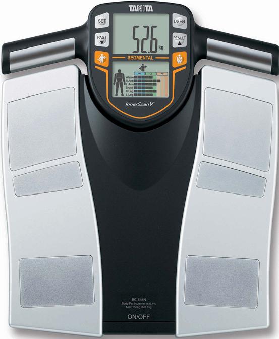 Напольные весы Tanita BC-545N Silver