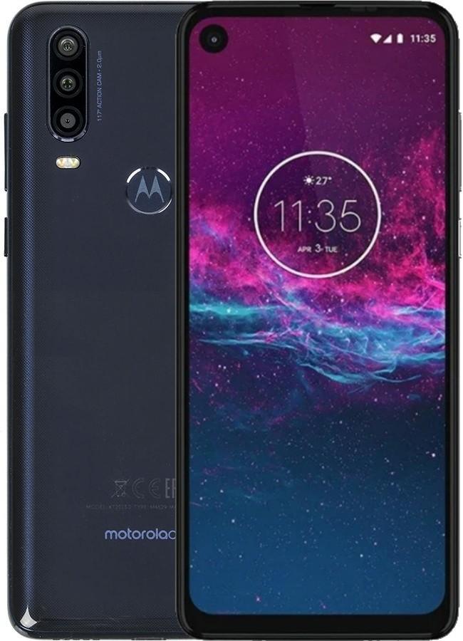 Смартфон Motorola One Action XT2013-2 LTE 4Gb 128Gb Blue