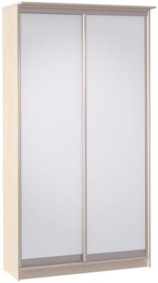 Шкаф-купе Цвет Диванов Тибр К-1 дуб молочный 125x44x234 см (двухдверный с зеркалом)