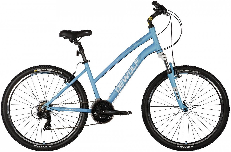 "Велосипед Dewolf Forest 2 светло-синий 26"""