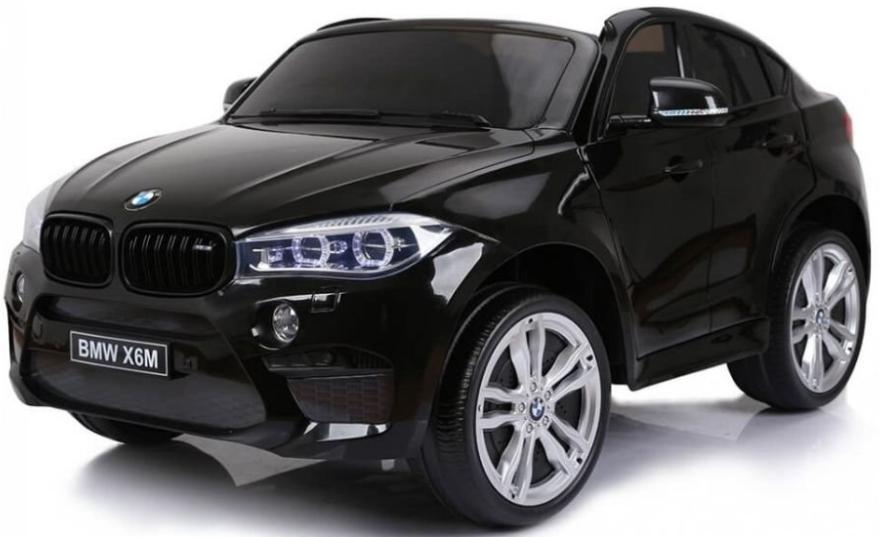 Электромобиль Barty BMW X6M Black (двухместный)