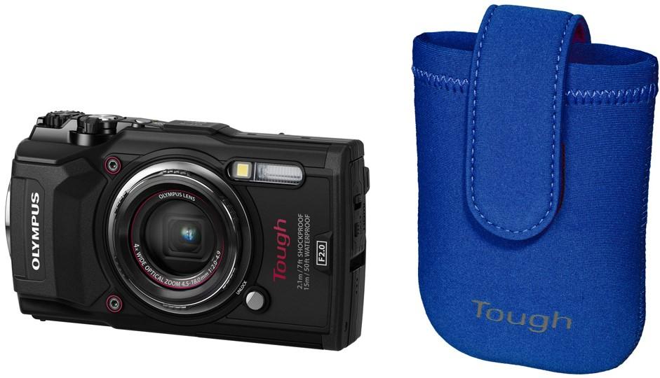 Фотоаппарат Olympus Tough TG-5 Black + …