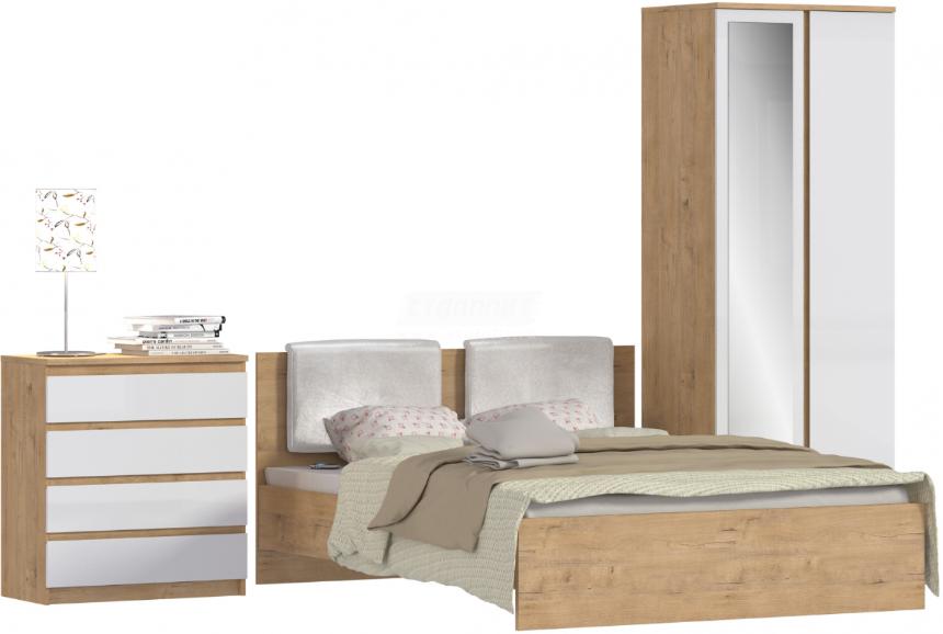 Спальня Столплит Веста 122-645-956-0000 дуб бунратти