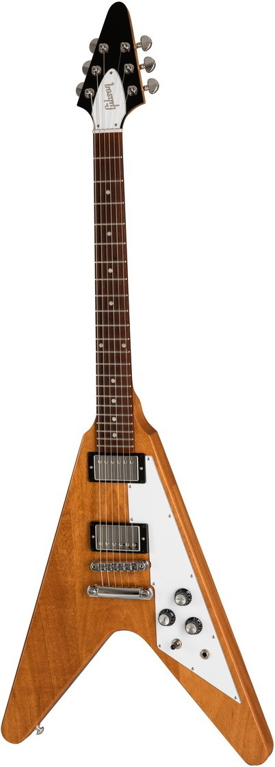 Электрогитара Gibson Flying V 2019 Antique Natural