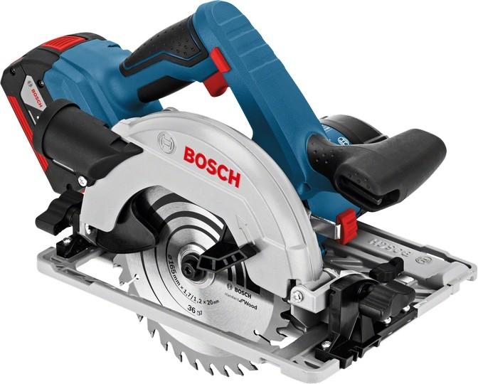 Дисковая пила Bosch 06016A2100 (2 АКБ и…