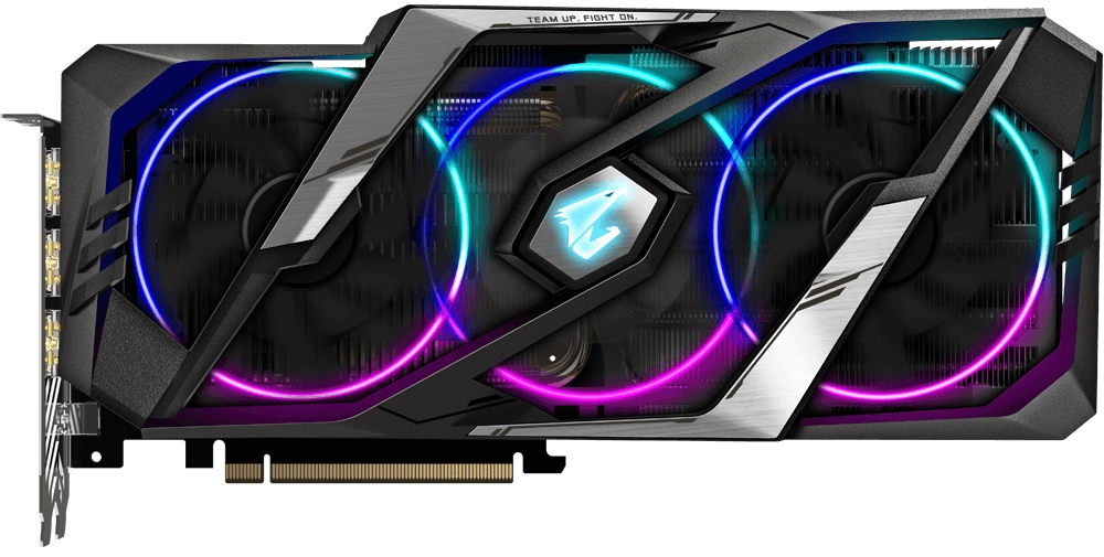 Видеокарта Gigabyte GeForce RTX 2070 Super Aorus 8Gb