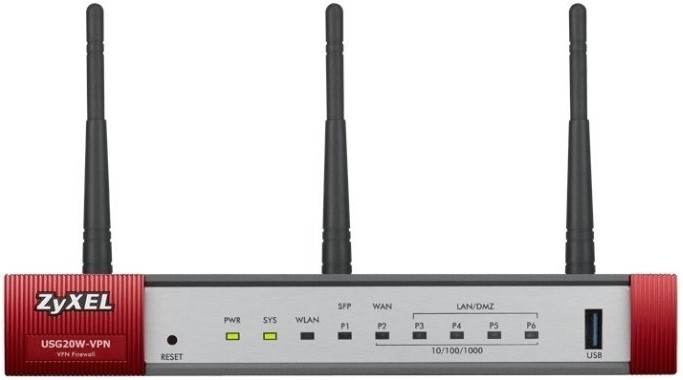 Маршрутизатор Zyxel USG20W-VPN