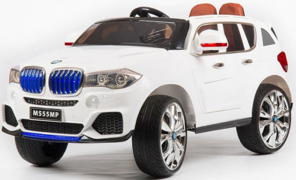 Электромобиль Barty BMW X5 M555MP White (кузов F-15 performance)