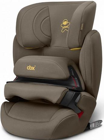 Автокресло CBX Aura-Fix Truffy Brown (9-36 кг)