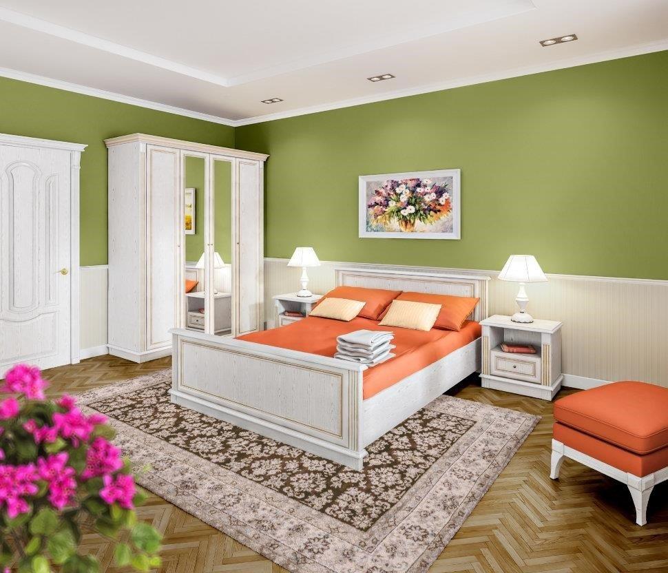 Спальня Столплит Версаль 120-505-154-0000 белый ясень