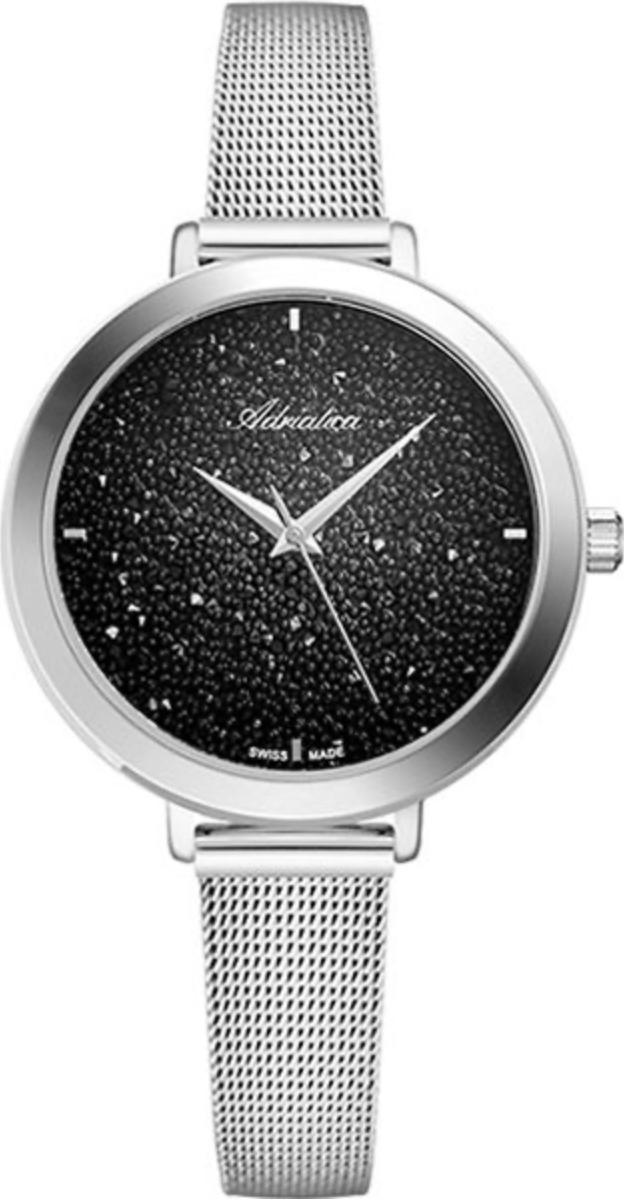 Наручные часы Adriatica Milano A3787.5114Q черный/стальной