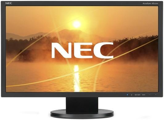 Монитор NEC AS222WI-BK
