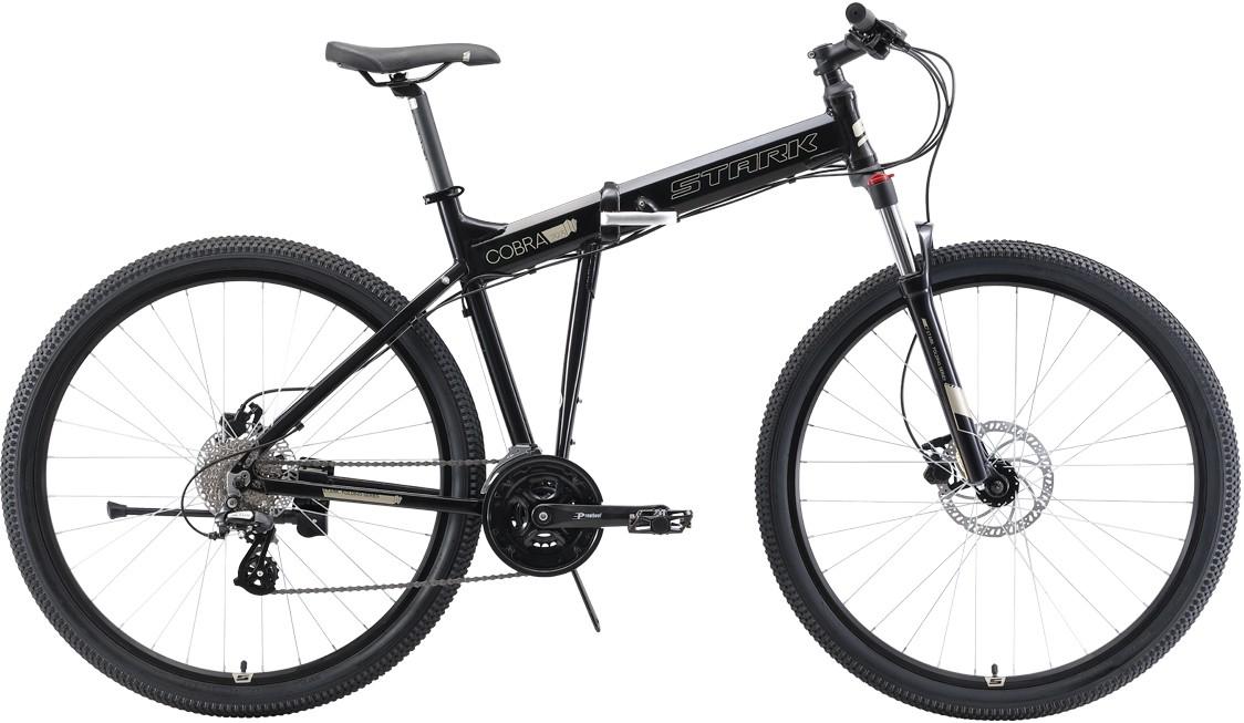 """Велосипед Stark Cobra 29.3 HD (2019) черный/серый 18""""/29"""""""